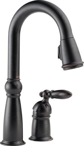 Delta 9955-RB-DST Victorian Single Handle Bar/Prep Faucet, Venetian Bronze