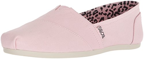 Skechers BOBS Women's Plush-Peace and Love Ballet Flat, Pnk, 7 M US by Skechers (Image #1)