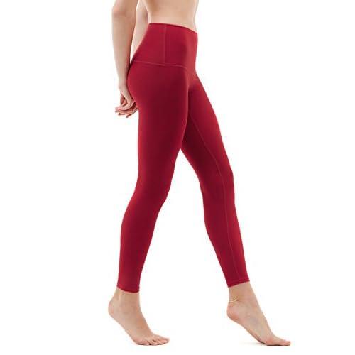 105806d8187b0c TSLA Yoga Pants High-Waist Tummy Control w Side/Hidden Pocket Series