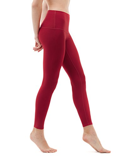 TSLA Yoga Pants High-Waist Tummy Control w Hidden Pocket FYP52 / FYP54 / FYP56 / FYP42 from TSLA