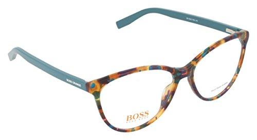 Eyeglasses Hugo Boss Orange 202 07KQ 00 Havana Green/Clear Lens