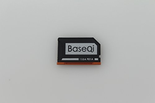 BaseQi Aluminum MicroSD Adapter for Lenovo Yoga 900 & 710 by BaseQi