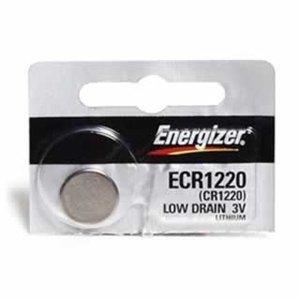 4 Energizer CR 1220 3 v Lithium Watch 0%Hg Mercury Free (3v Lithium Alarm)