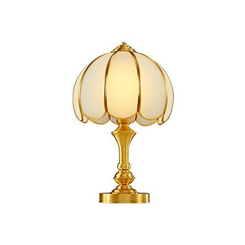 Lámpara De Mesa De Bronce Antiguo Europeo Sala De Estar ...