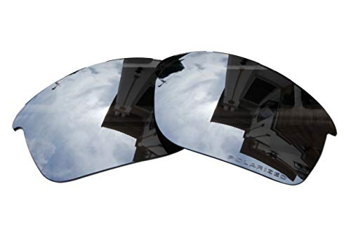 Polarized Replacement Lenses for Oakley Bottle Rocket Sunglasses - 5 Options Available (Black Iridium) (Oakley Bottle Rocket Lenses)