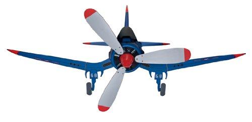Hunter Fans 24852 48'' Fantasy Flyer Kid's Indoor Flush Mount Blue Ceiling Fan