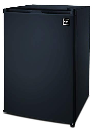 RCA RFR464BLACK 4.5 Cu Ft Single Door Mini Fridge RFR464, Black (Best Mini Fridge With Freezer 2019)