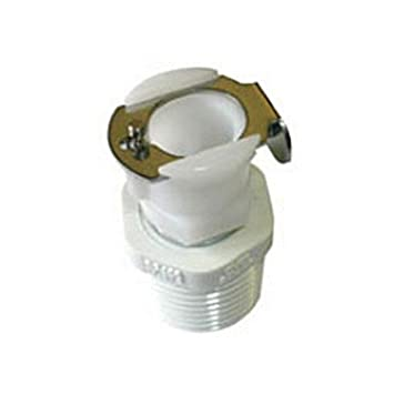 RV Trailer Camper Fresh Water Qc Coupling Body with Shutoff RV 52531 4 Camco  52531