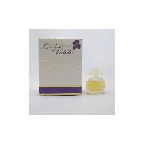 Quelques Violettes by Houbigant 0.1 oz Eau de Parfum Mini (0.1 Ounce Parfum Mini)