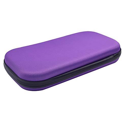 PinShang Portable Stethoscope Storage Box Carry Travel Case Bag Hard Drive Pen Medical Organizer Purple by PinShang