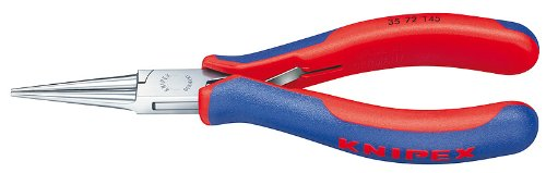 Knipex 3572145electrónica Alicates con consejos, redonda 14,6cm