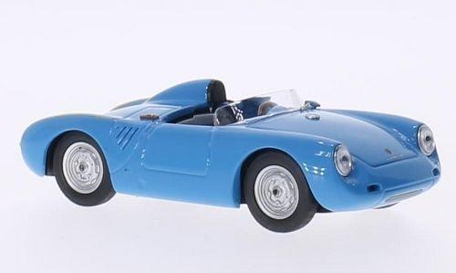 Porsche 550 RS, hellblau, 1957, Modellauto, Fertigmodell, Best 1:43