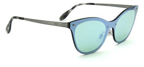 Ray-Ban RB3580N BLAZE CAT EYE Mirror Sunglasses 042/30, 43mm