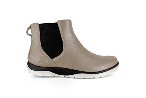 Orthotic Strive Footwear Sand Metallic Boot Chelsea AqvYzx