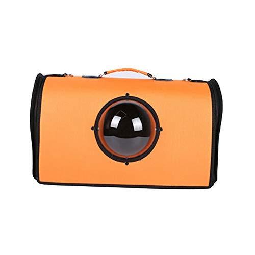 Orange Orange B07qtjcn9k Blue Dark 色 ペットキャリア動物