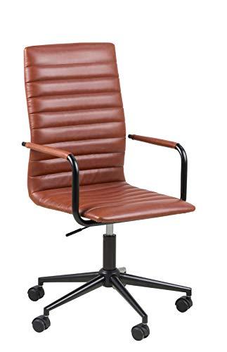 Amazon Brand - Movian Dubna - Silla de escritorio, 58 x 45 x 103 cm, marron