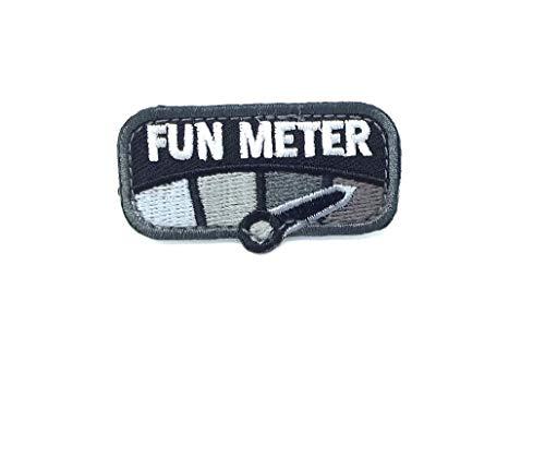 Milspec Monkey Fun Meter Morale Patch (Black)