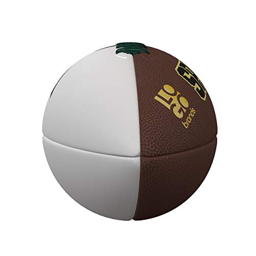 Logo Brands NCAA Michigan State Spartans Autograph Football, Official Size, Brown ()