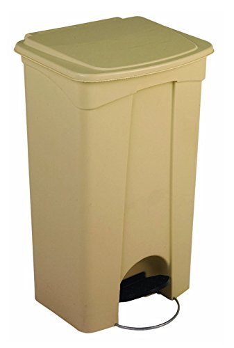 Continental 23BEGSX Step-On Receptacle, 23 gal, Beige