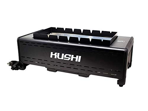 Kushi Infrared Smokeless Indoor Grill for BBQ, Kebab and Yakitori (Table Top)