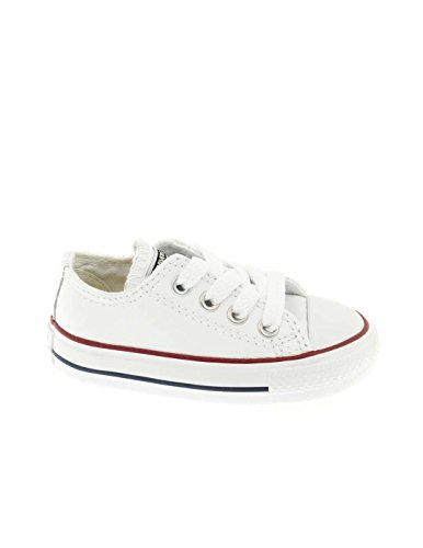 Converse Chuck Taylor All Stars Ox Leather Toddler Shoes EUR 18 Optical White