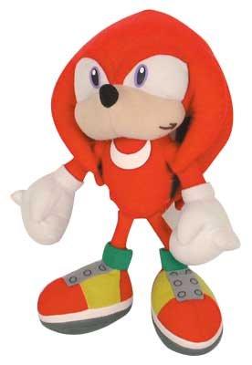 Knuckles 32cm Sonic X Muñeco Peluche Videojuegos Sega