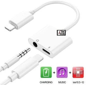 Zac Tech® Jack Audio AUX 3.5MM Earphone Headset Cable