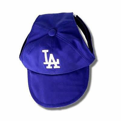 Sporty K9 MLB Los Angeles Dodgers Dog Cap, Small