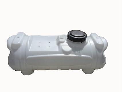 Ace Roto-Mold 15 Gallon White Blow-Molded Spot Sprayer Tank (SB00015SWS-SPR)
