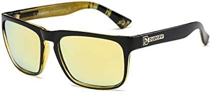 Rzj-njw Lunettes de Soleil pour Hommes 100% polarisants Protection UV Hommes Lunettes de Soleil pour Conduire et pêche et Sports UV 400,2