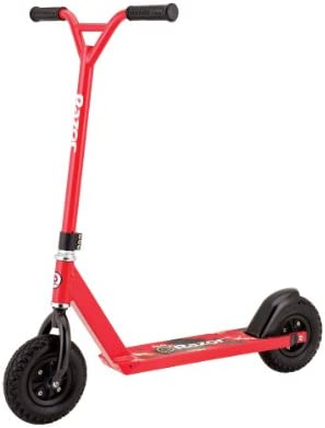 Razor Pro RDS Dirt Scooter - Red on