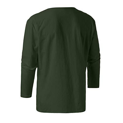 Épais Pour Capuche gris Merical x Zippé Verte Coton À large D'hiver En Polaire Manteau Hommes Armée Veste Matelassée Solide x6qqIX0