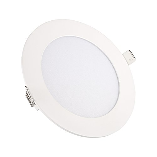 Ceiling Lights, TryLight 12 Watts 6 Inch Dimmable Round LED Recessed Lighting Ultra-Thin for Home Office Commercial Lighting, 4000K Cool White by TryLight (Image #10)