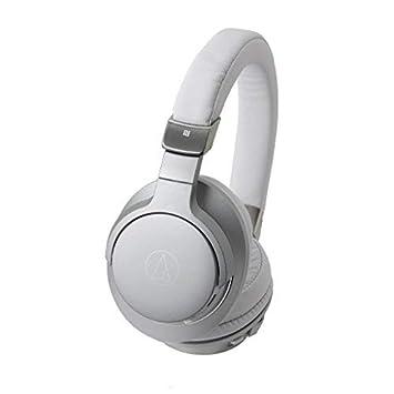 Audio-Technica ATH-AR5BTSV - Auriculares inalámbricos de Alta resolución, Color Plata: Amazon.es: Electrónica
