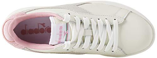 Pink white L Para Zapatillas cameo C7725 Game Diadora Wide Gimnasia Multicolor Mujer De PZC6nqFxw