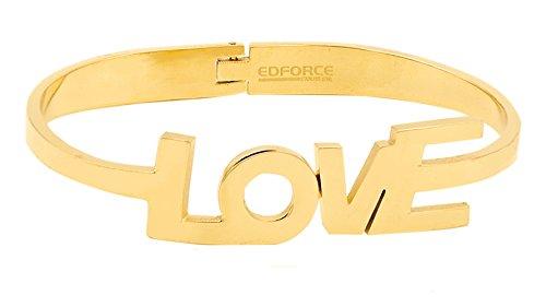 Stainless Steel Tri-color Bangle Bracelets for Women 3-piece Set - 5