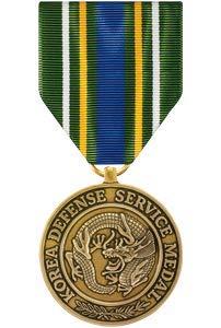 Medals of America Korean Defense Service Medal Bronze