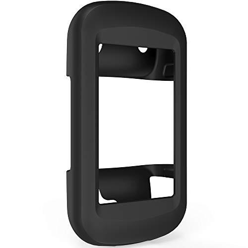 TUSITA Case for Garmin Montana 600 610 610t 650 650t 680 680t - Silicone Protective Cover - GPS Bike Computer Accessories (Black B)