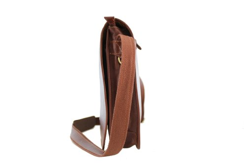 Katana - Bolso al hombro de Piel para hombre Marrón - marrón