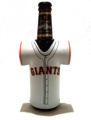 SAN FRANCISCO GIANTS BOTTLE JERSEY KOOZIE COOLER COOZIE (Jersey Bottle Giants Francisco San)