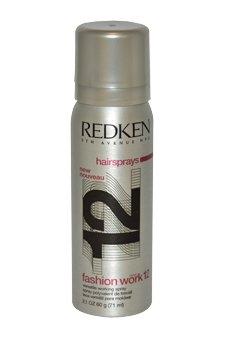 Fashion Work 12 Working Spray by Redken for Unisex - 2.1 oz Spray