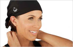 Conserve Your Do GymWrap - Triangle Sweat-Wicking Headband with Patented Edge Control Technology by Nicole Ari Parker,