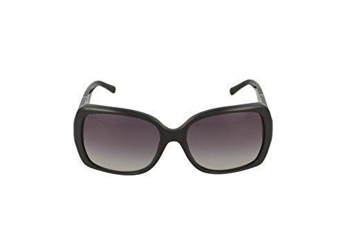 cec1af278f8e Burberry Women s BE4160 Sunglasses Black Gray Gradient 58mm ...