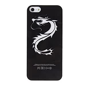 Dragon Pattern LED Flashing Designed Hard Case with Battery for iPhone 5/5S