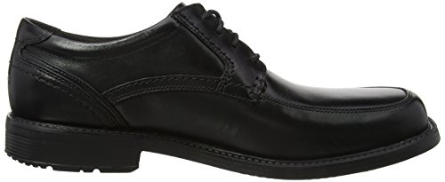 Homme Black Apron Toe 2 Rockport Black Noir Leader Derbys Style fwax1p