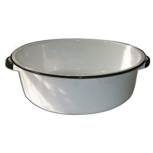 Granite Ware Dish Pan with Handles, 15-Quart ()