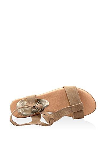 Esther Garcia Pmg-5512-tau - Sandalias de cuña Mujer Taupe