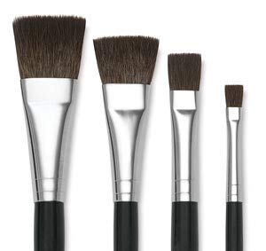 Isabey Brush Series 6236 Squirrel Flat 8 by Isabey