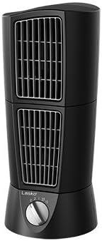 Lasko Desktop Wind Tower Oscillating Multi-Directional 2-Speed Fan