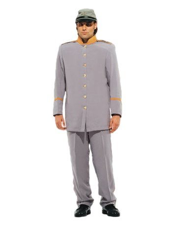 Adult Confederate Soldier Costumes - Deluxe Civil War Confederate Soldier Theatrical Quality Costume, XXLarge